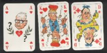 Collectible playing cards. .German Skat politisch 1976